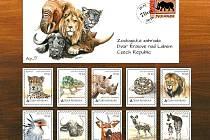 Speciální emise známek připomene výročí zoo