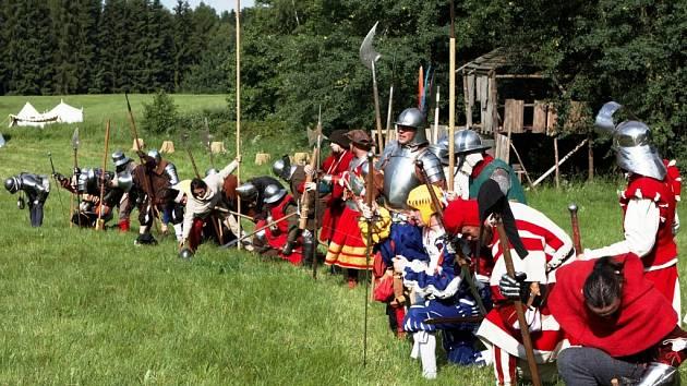 Středověká bitva v Hajnici