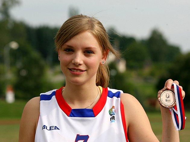 Basketbalistka Eva Skutilová.