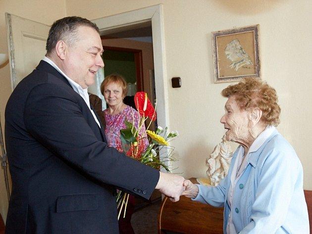 Kateřina Růžičková oslavila 104. narozeniny