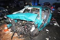 Nehoda mezi Kocbeřemi a Choustníkovým Hradištěm