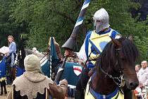 Slavnost koní a řemesel 2009 - rytířský turnaj