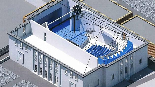Chátrající budovu bývalého městského kina plánuje Vrchlabí přestavět na divadlo.