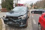 Nehoda na Pražské v Trutnově