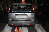 Sedmatřicetiletá řidička srazila na přechodu pro chodce  devětašedesátiletého muže, který byl transportován do vrchlabské nemocnice.