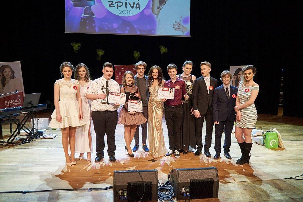 Finále soutěže Česko zpívá 2018 v trutnovském Uffu.