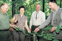 Delegace lesníků z Ukrajiny
