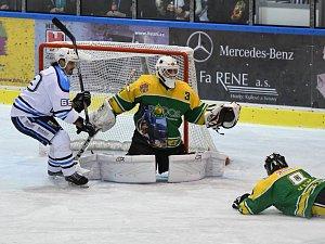 II. hokejová liga: Dvůr Králové - Vrchlabí