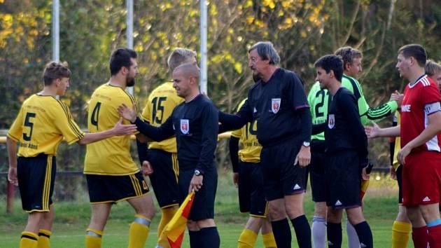 Fotbalisté Dolní Kalné jsou dlouholetým účastníkem krajské soutěže I. B třídy.