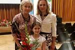 Bronzová olympijská medailistka Karolína Erbanová na snímku s maminkou Simonou. V den úspěšného závodu spolu na dálku sledovaly hokejový zápas našich se Švýcarskem.