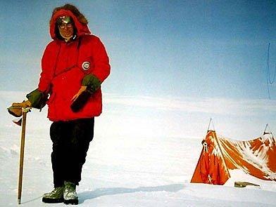 Josef Sekyra na polární výpravě