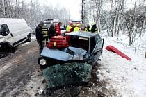 Do Radvanic k nehodě přiletěl i vrtulník