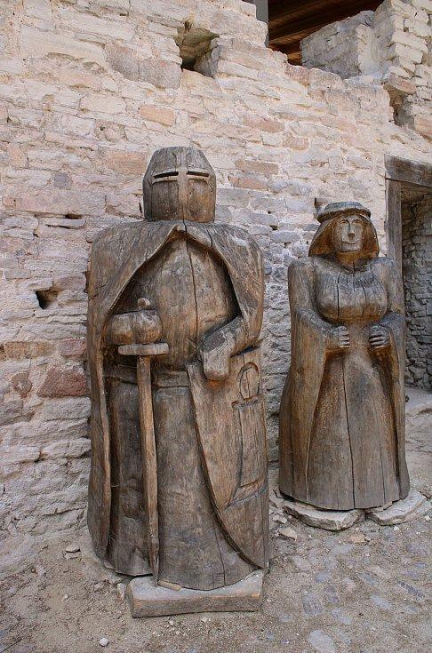 Slavnostní zpřístupnění hradu Vízmburk v Havlovicích.