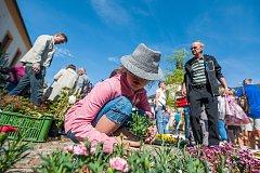 Zahradnické trhy v Kuksu pokračují i v neděli.