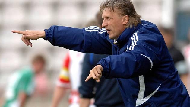 Trenér Oldřich Machala.