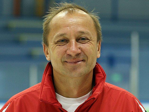 Trenér Vladimír Jeřábek.