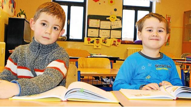 Žáci 1. třídy ZŠ Janské Lázně