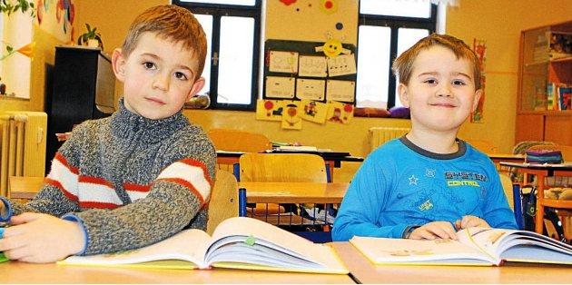 Žáci 1.třídy ZŠ Janské Lázně