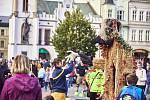 Spolek Rýbrcoul - duch hor organizoval v sobotu v Trutnově akci Oživlé bytosti a příběhy Krkonoš.