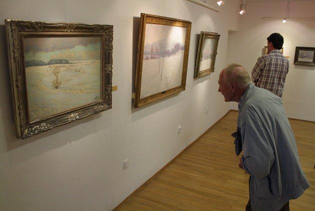 V Galerii města Trutnov jsou k vidění obrazy předního českého krajináře Františka Kavána.