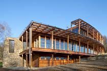 Dřevěnou stavbou loňského roku je Dům v Oboře