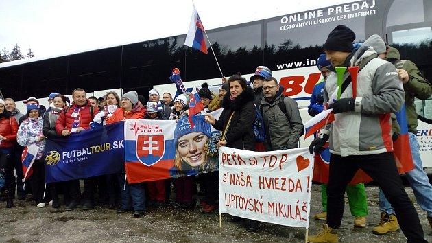 Krkonoše se změnily ve slovenský ráj, ve Špindlu nechybí Samková a Verešová