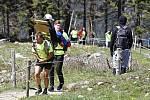 Charitativní výstup Na Sněžku pro Fílu organizoval Nadační fond KlaPeto Kateřiny Klasnové a Jaroslava Petrouše.