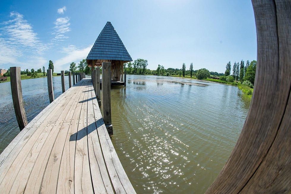 Dobrá zpráva od hygieniků. Podle rozborů vody z tohoto týdne je vrchlabský Kačák v části Vejsplachy vhodný ke koupání.
