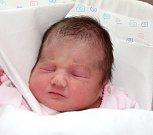 SABINA ŠEDIVÁ se narodila 29. června ve 4.56 hodin Pavlíně a Martinovi. Vážila 3,52 kilogramu a měřila 49 centimetrů. Rodina bude bydlet v Trutnově.