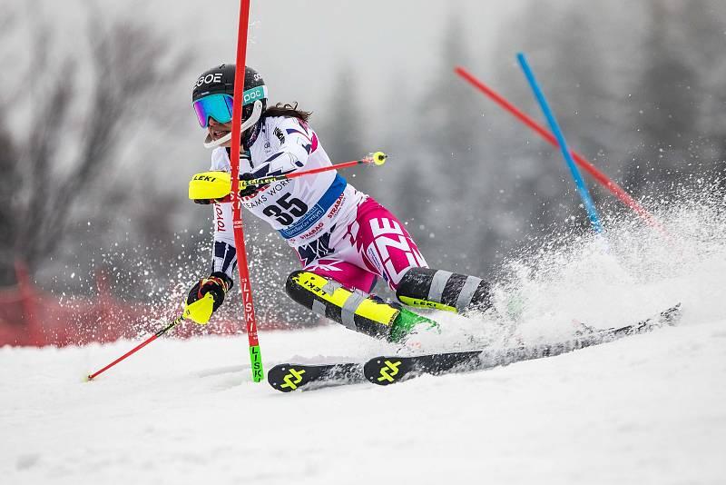 Martina Dubovská, Světový pohár v lyžování ve Špindlerově Mlýně
