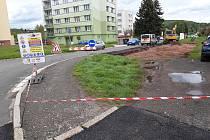 V Trutnově Poříčí vzniká nové parkoviště.