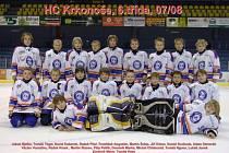 Mladí hokejisté HC Krkonoše vyhráli Žákovskou ligu 6. tříd, když ve 32 zápasech se hned ve devětadvaceti případech radovali z vítězství.