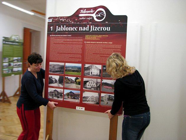 Výstava k projektu Krkonoše vnější a vnitřní.
