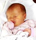 EMÍLIE KADLECOVÁ se mamince Kateřině narodila 10. září v 15.56 hodin. Měřila 48 cm a vážila 2,85 kg. Malá Emílie bude bydlet v Trutnově.