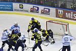 Poprvé z pěti vzájemných duelů v sezoně se v souboji mezi Vrchlabí a pražskou Kobrou radoval tým, který nastoupil v domácím prostředí.