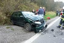 Dopravní nehoda v Trutnově