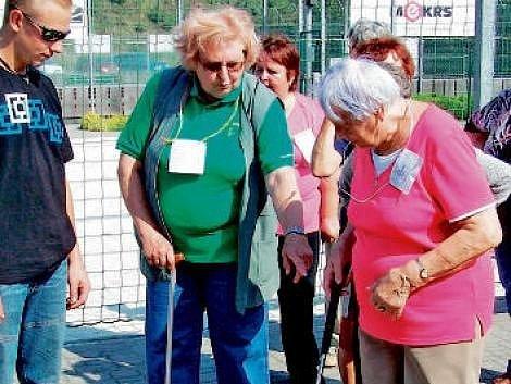 Olympiáda seniorů v Havlovicích.
