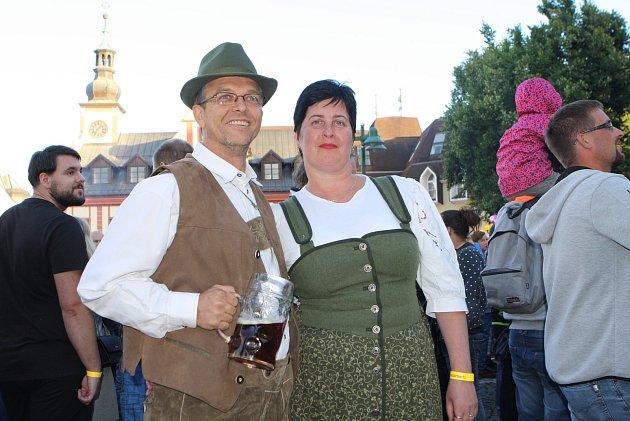 V sobotu se konají ve Vrchlabí Krkonošské pivní slavnosti.