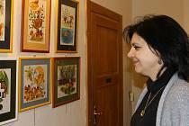 Součástí akce v muzeu bylo i zahájení výstavy ilustrátora Jaroslava City.