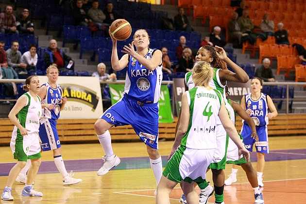 Z utkání Valosun Brno - Trutnov.