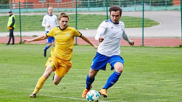 Fotbalisté Trutnova si se soupeřem z Přepeř body rozdělili.