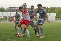 Vrchlabští fotbalisté doma ztratili body s hradeckou Slavií.