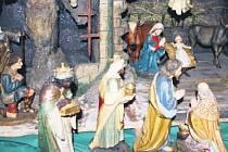 Církevní betlém z Markoušovic