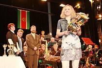 Oceněným sportovcům letos dominovaly Karolína Erbanová (na snímku) a Eva Samková.