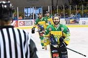 Hokejisté Stadionu prožili na ledě ve Slaném bláznivý zápas. Nejprve vedli, pak soupeř srovnal a nakonec se přece jen radovali ze tří bodů.