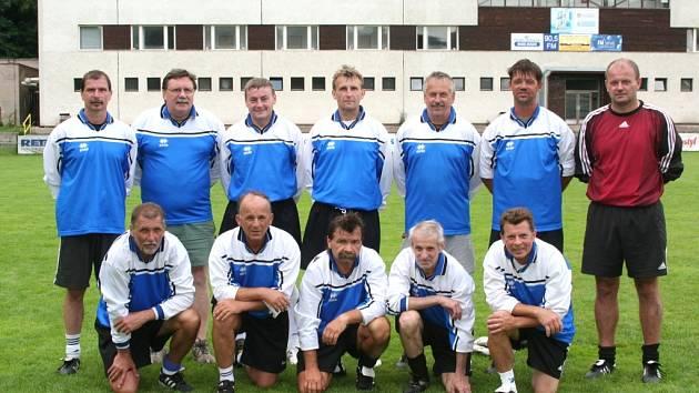 Vítězný tým FK Trutnov A
