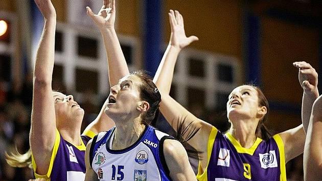 Excelsior ŽBL: Kara Trutnov - Slovanka MB
