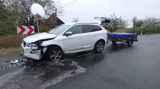 Nehoda v Markoušovicích.