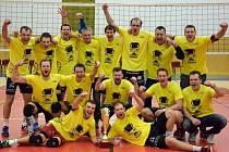 Volejbalisté Turnova slaví historický úspěch, titul v I. lize!