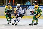 Hokejisté Dvora Králové nad Labem na domácím ledě šokovali lídra tabulky, když soupeře z Jablonce nad Nisou přestříleli výsledkem 8:6.